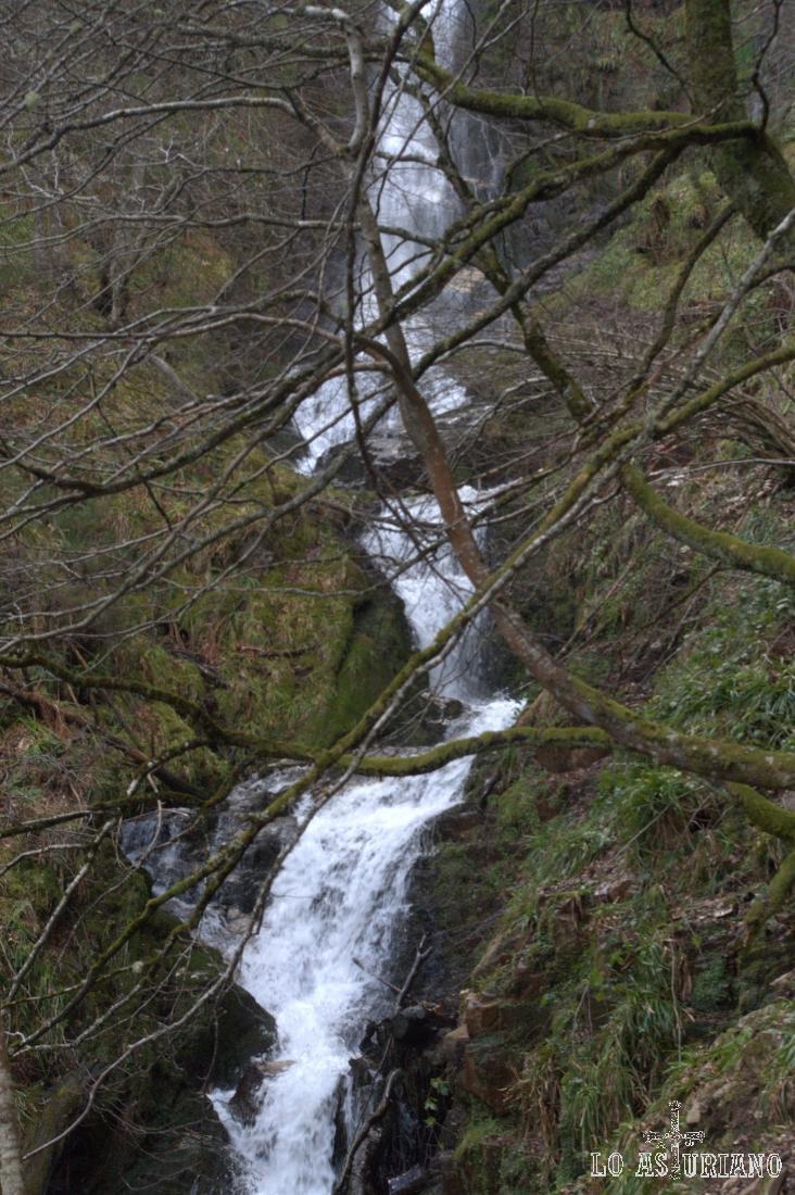 Salto de agua del Xiblu.