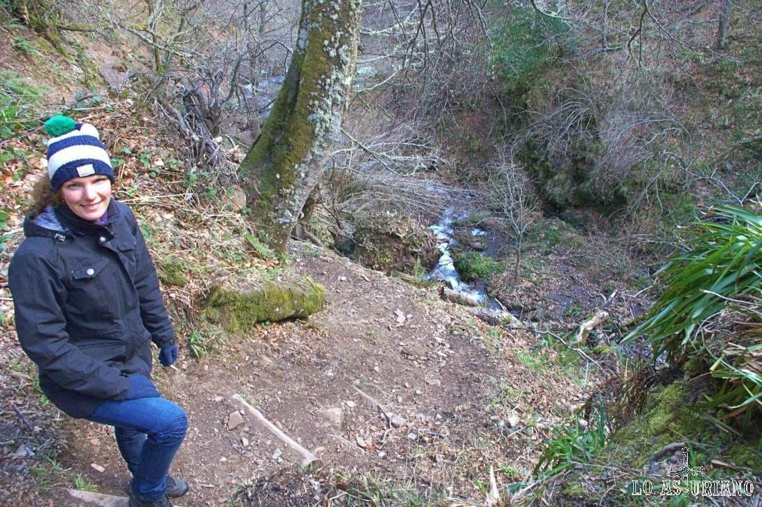 Ruta de la cascada del Xiblu.