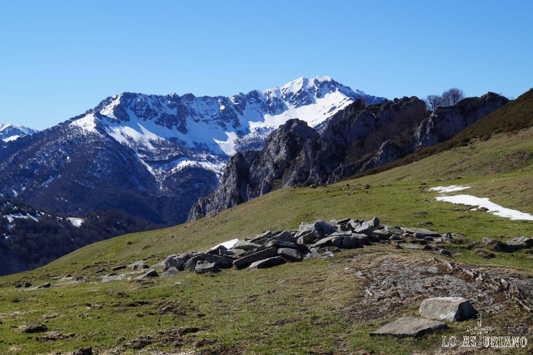 El Pico Maciédome, con sus 1903 metros.