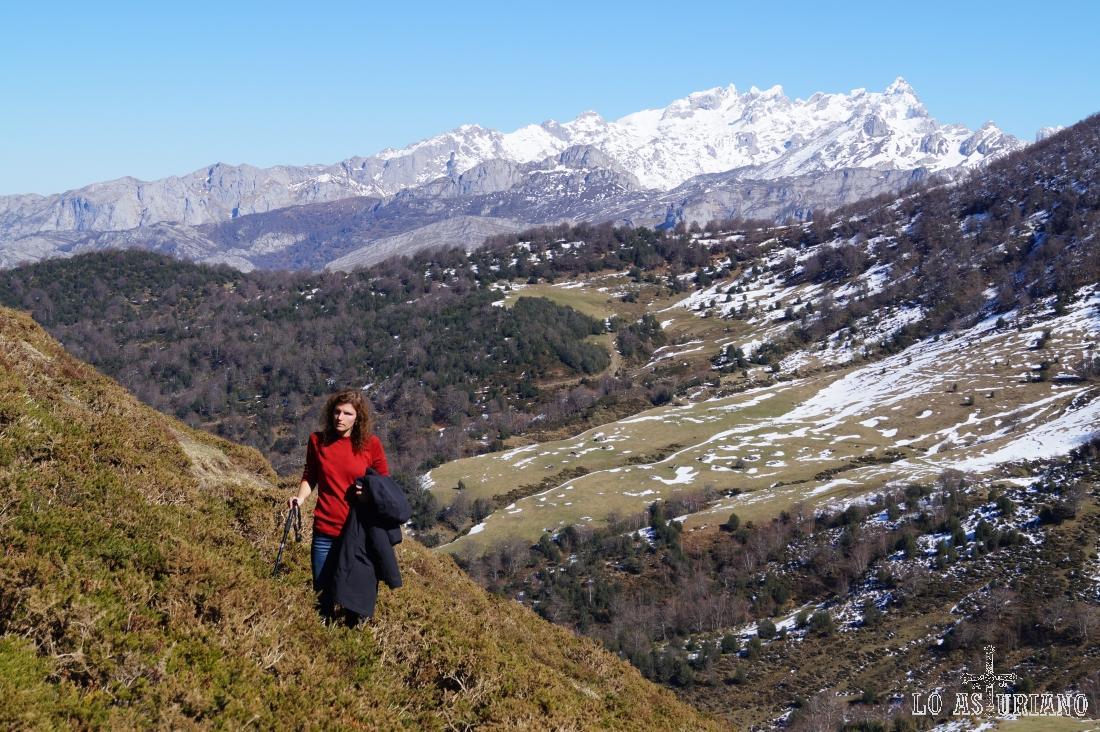 Tenemos ya una amplia visión de los Picos de Europa.