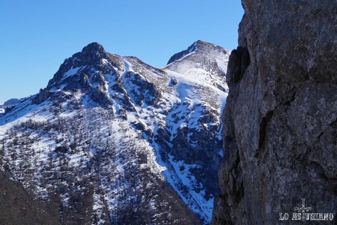 Pico Luengo y Colláu Zorru.