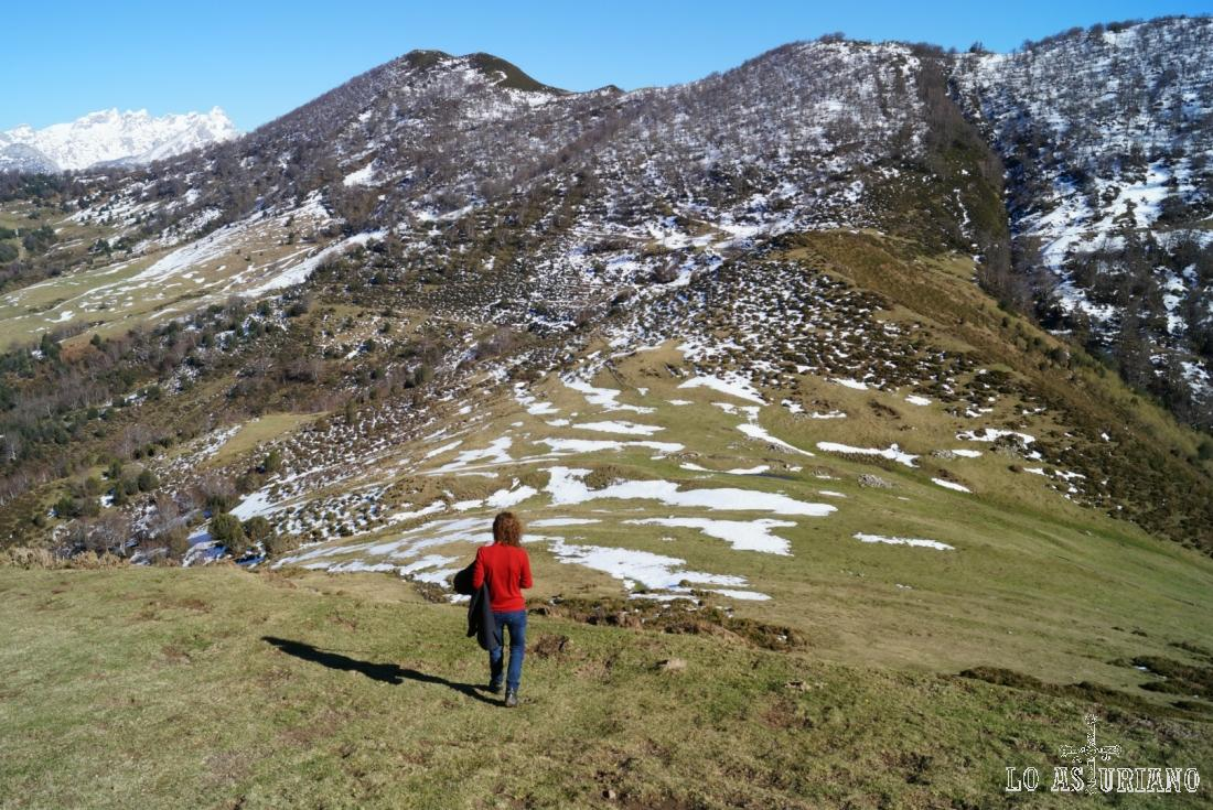 A 1397 metros, la collada Les Caldes.