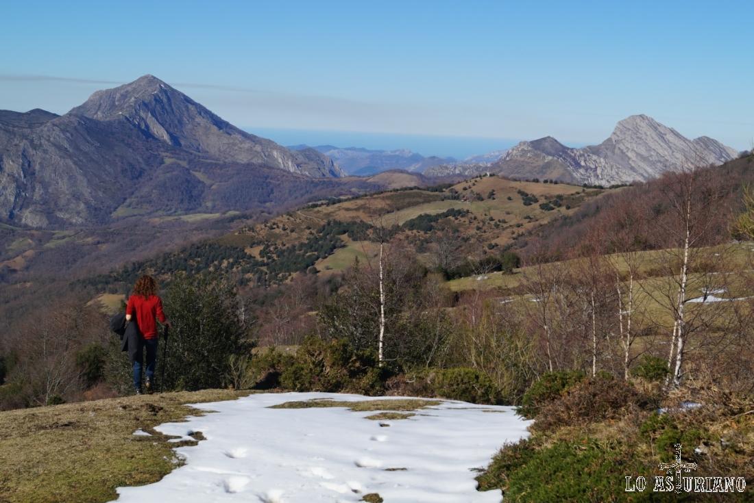 Magníficas vistas desde los 1300 metros.