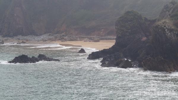 La preciosa playa de Madrebona, en Perlora.