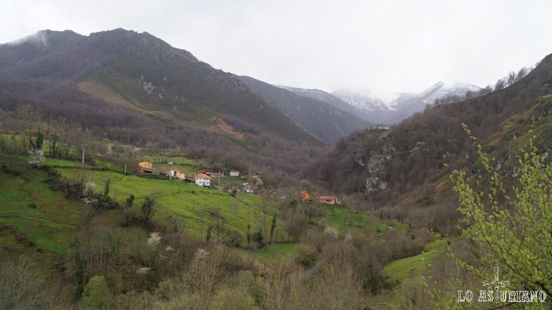 Paisajes en el concejo de Teverga, Asturias.