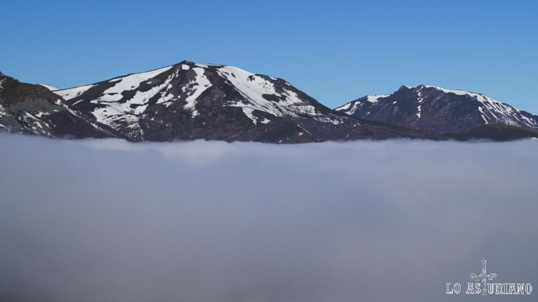 Mar de niebla.