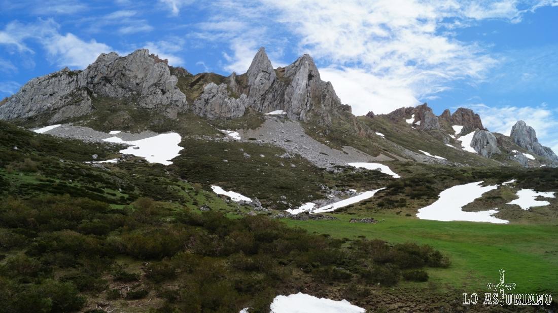 El Miro y la sierra de las Morteras.