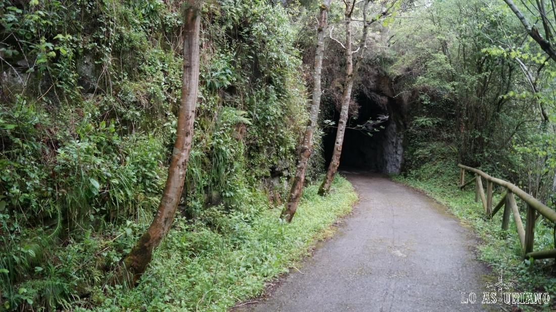 Llegando a un nuevo túnel.