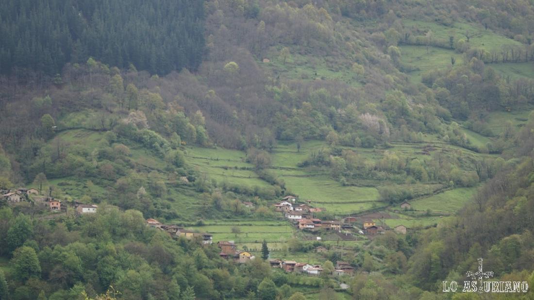 Santa María desde Fabar.