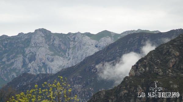 La sierra de Caranga, en el concejo de Teverga.