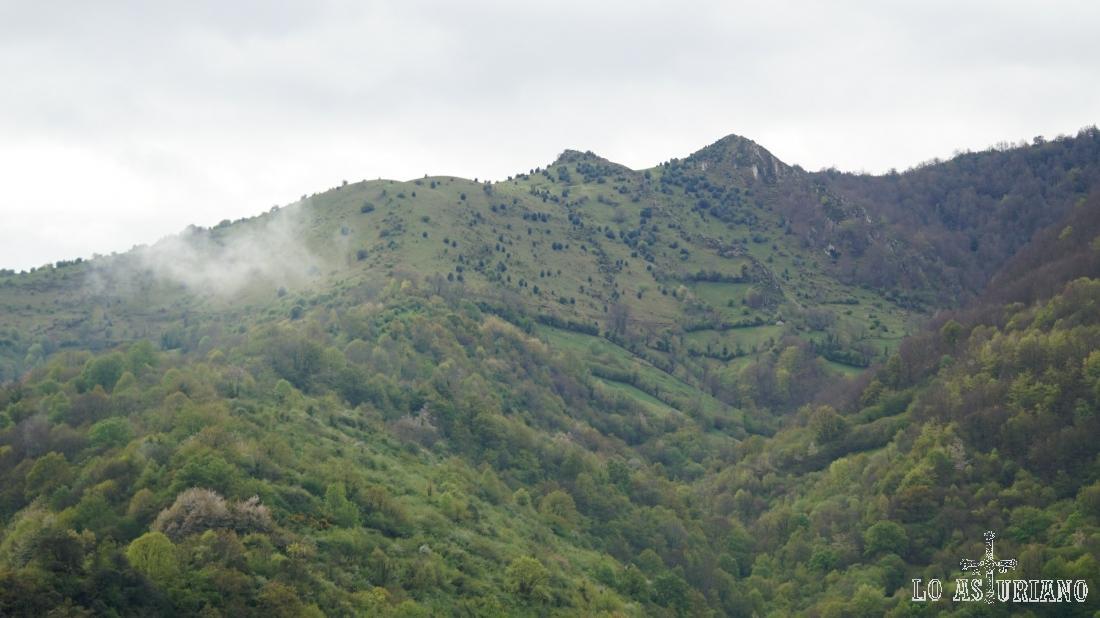 Valles adyacentes a Fabar.