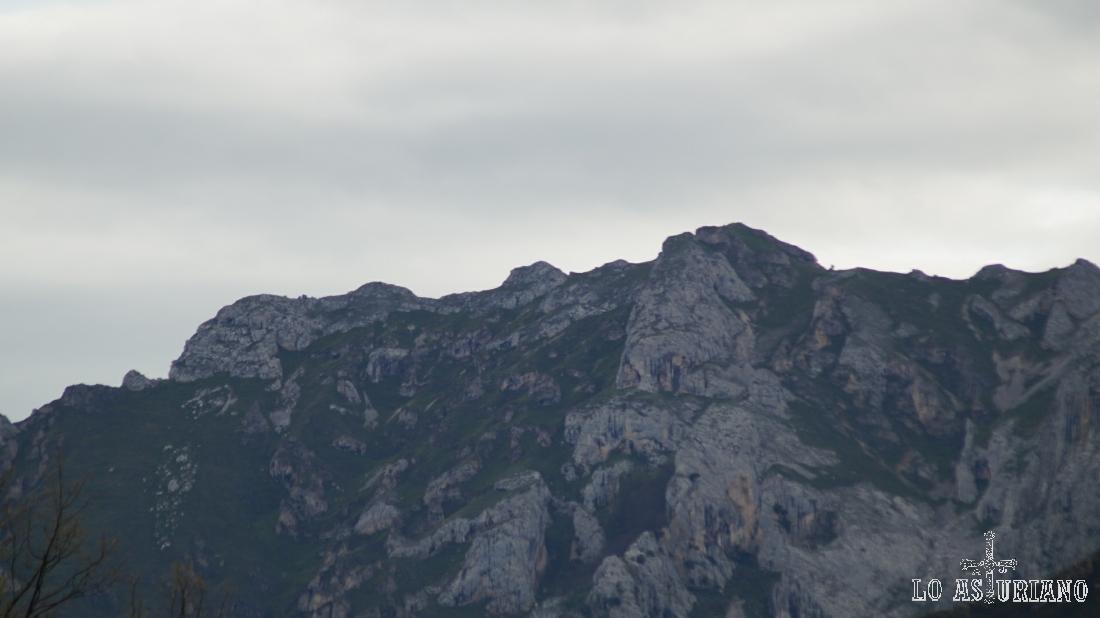 Los altos de la sierra de Sobia.