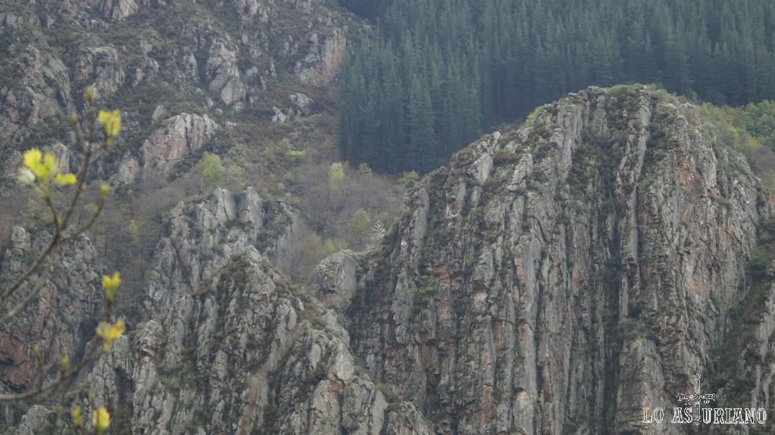 Estas laderas rocsas son una preciosidad.