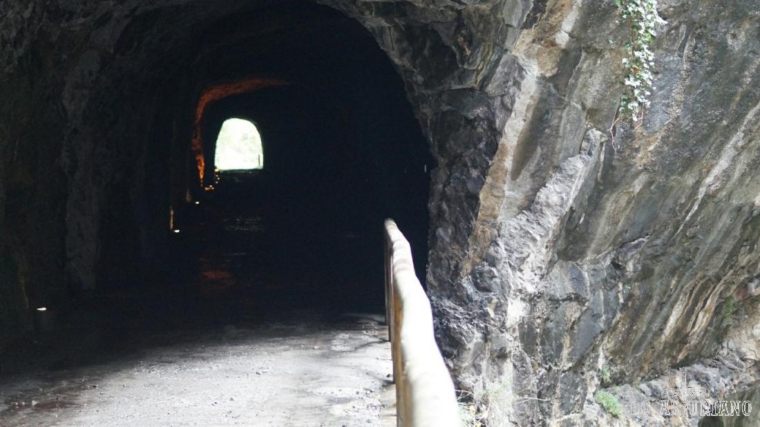 Túnel de la senda del oso, cerca de Entrago.