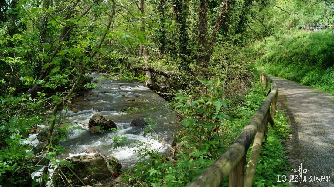 Río Teverga y la senda del oso.