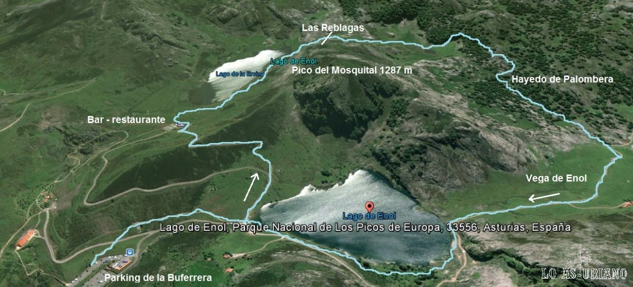 Información Y Fotos De Ruta De Los Lagos De Covadonga Cangas De Onís Distancia 8 440