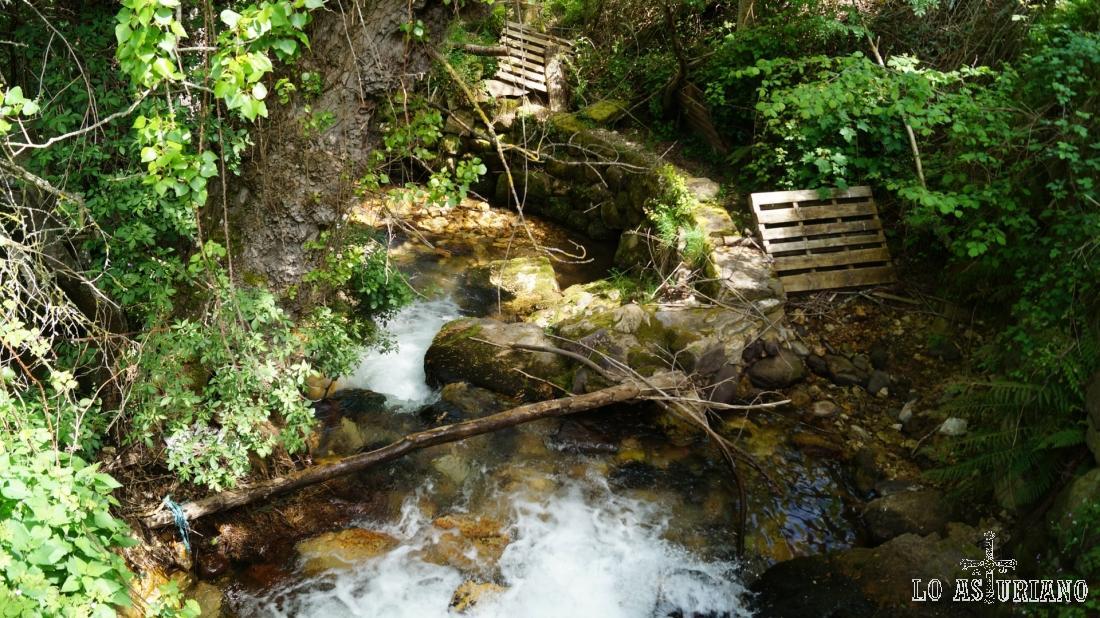 Dejando atrás el arroyo Aguino, que en apenas 1,5 km, vierte sus aguas al río Somiedo.