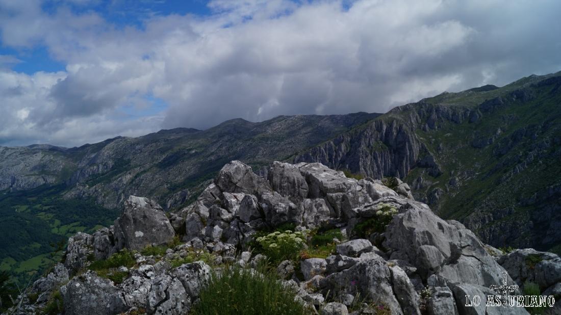 Esta es la cima de la Peña Vigueras.