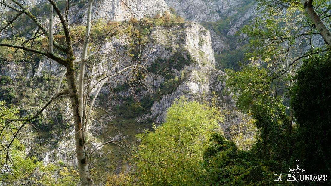 Las rocas del desfiladero.