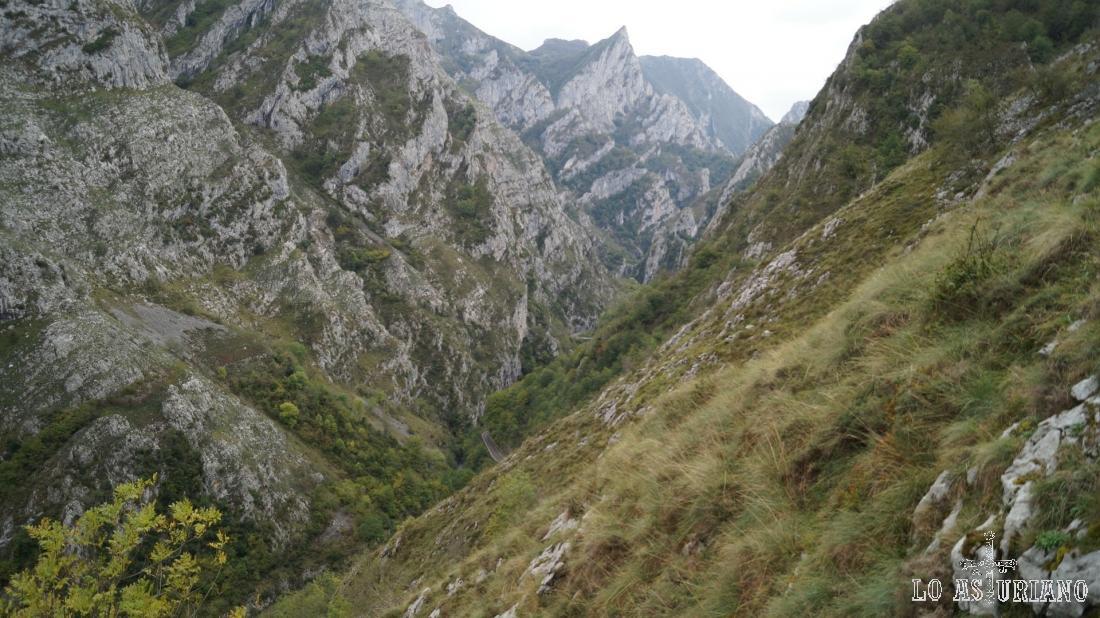 Zona de Pedrusanes, la Grancena, el pico Frailón: maravillosas vistas...
