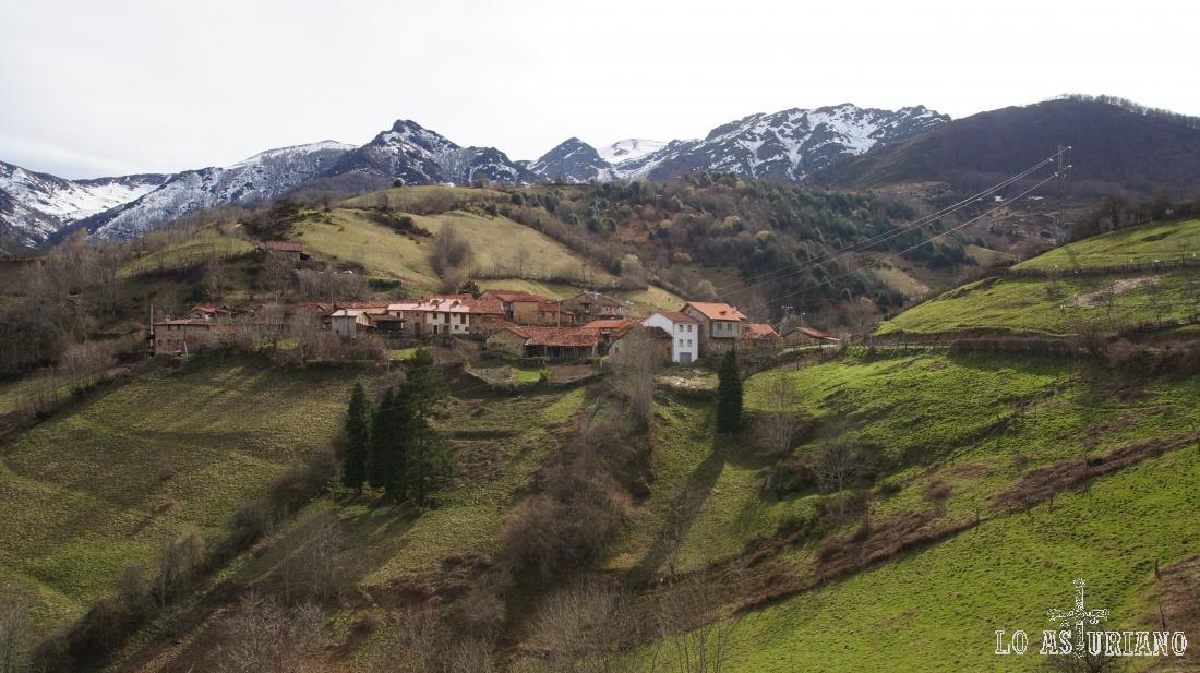 Focella, concejo de Teverga, Parque Natural de las Ubiñas - La Mesa.