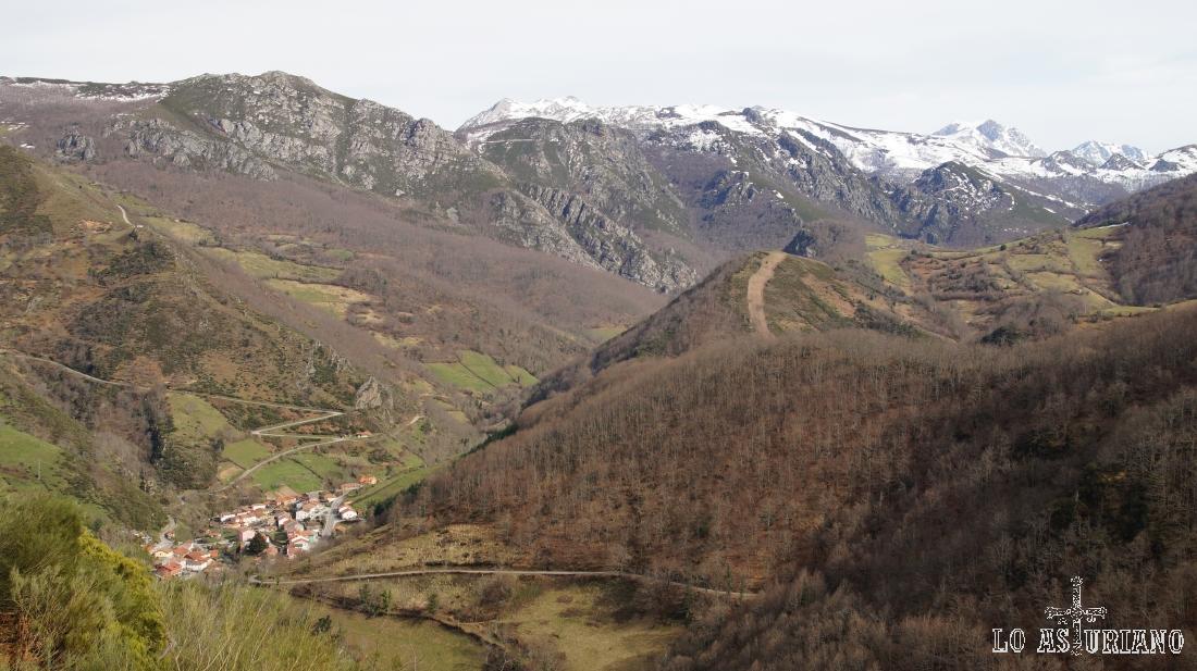 Páramo, en pleno puerto de la Ventana, concejo de Teverga, Asturias.