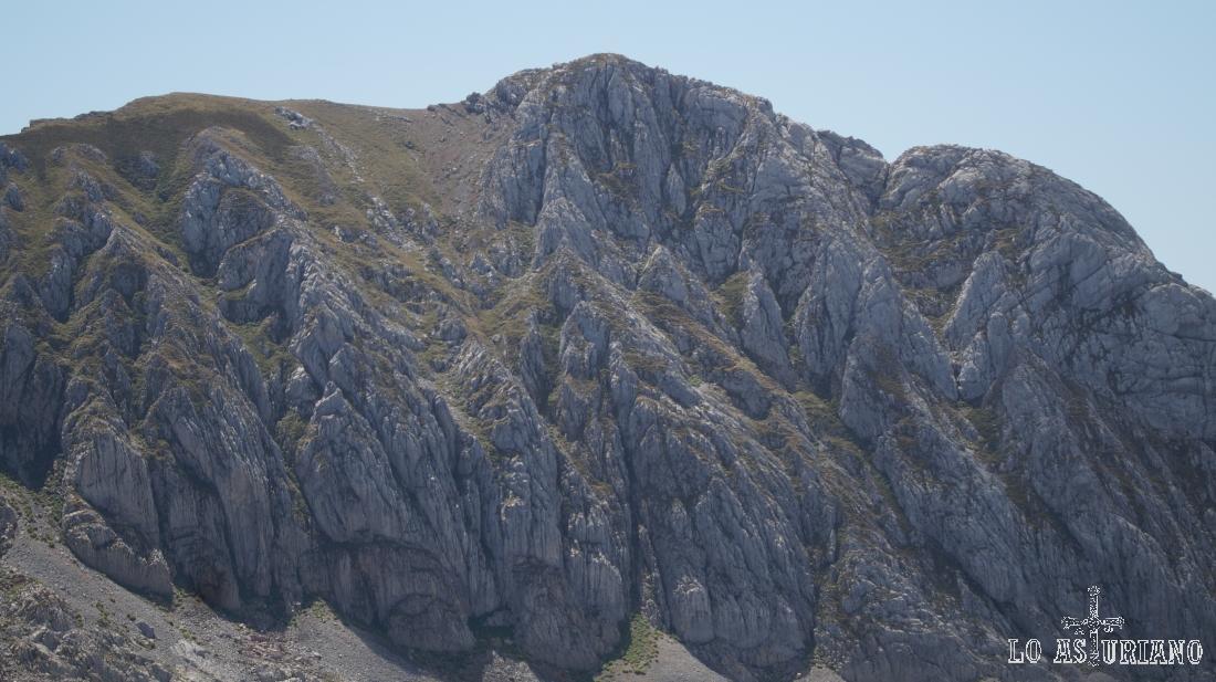 La Peña Orniz, 2191 m.