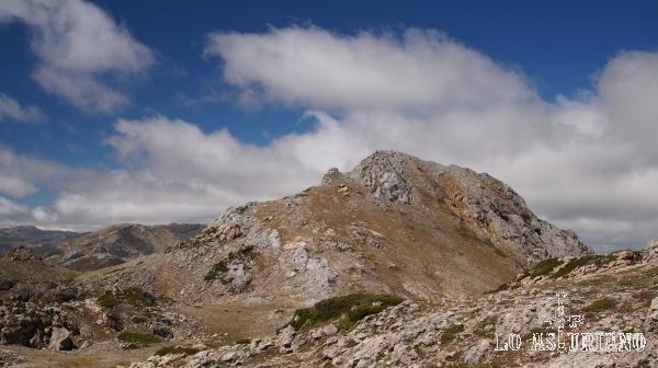 El Albo Occidental, desde las laderas del Oriental.