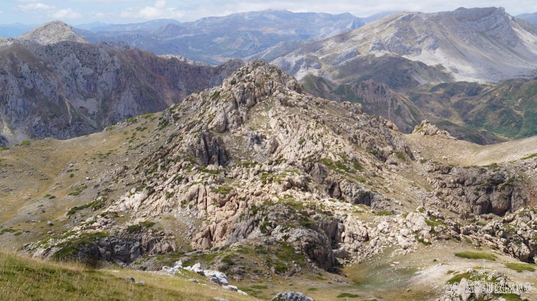 Pico Rubio, 2043 m, Somiedo, Asturias.