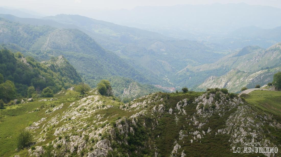 Puerto de los Lagos de Covadonga.