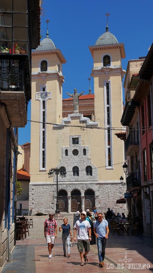 Iglesia de Santa María Magdalena, en Ribadesella.