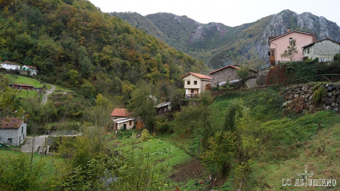El idílico lugar de Pendones, en el concejo de Caso, Asturias.