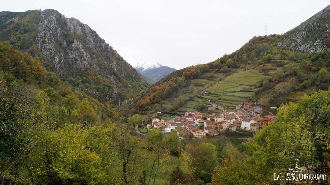Pendones, Caso, Parque Natural de Redes, Asturias.