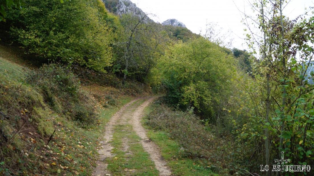El camino es mágico, de unos 6 km y 450 m de desnivel.