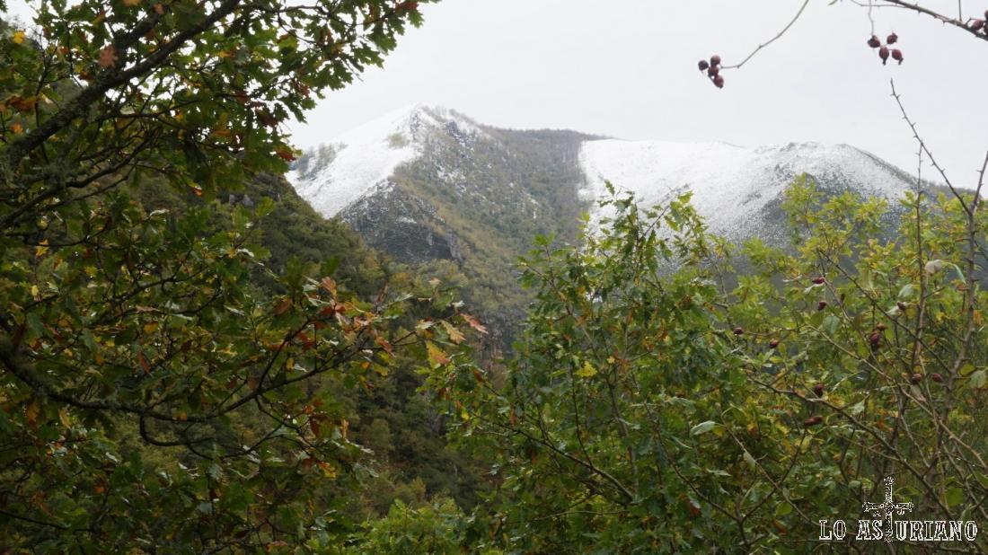 La nieve ayuda a embellecer los paisajes.
