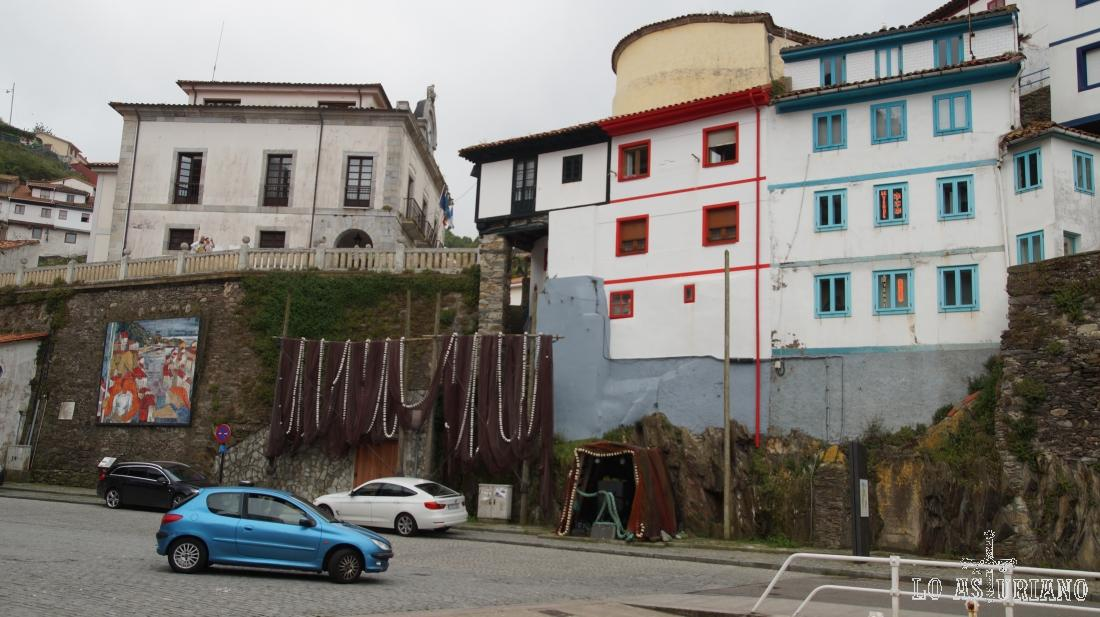 Redes en Cudillero, Asturias.