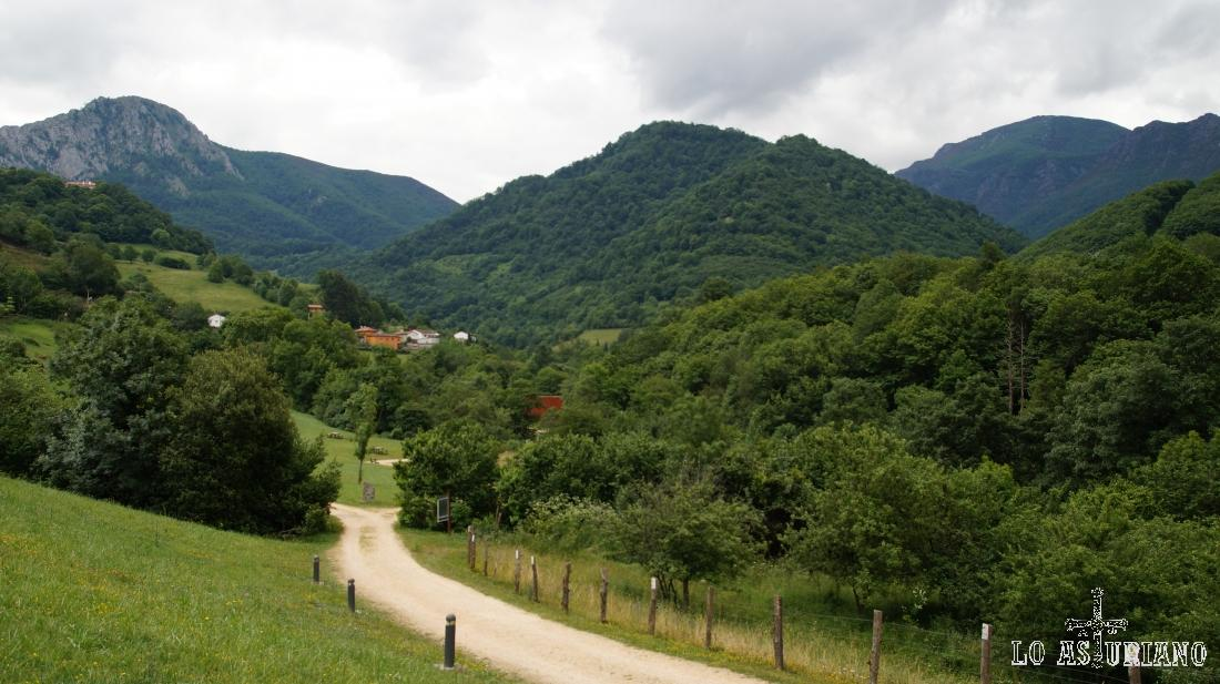 Paisajes del concejo de Teverga, principado de Asturias.