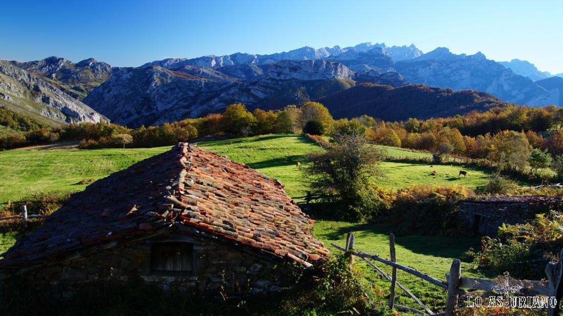 Majadas les Bedules, Ponga, Asturias.