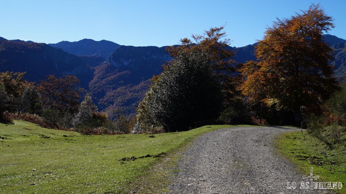 La collada Granceno, 1194 m, Ponga.