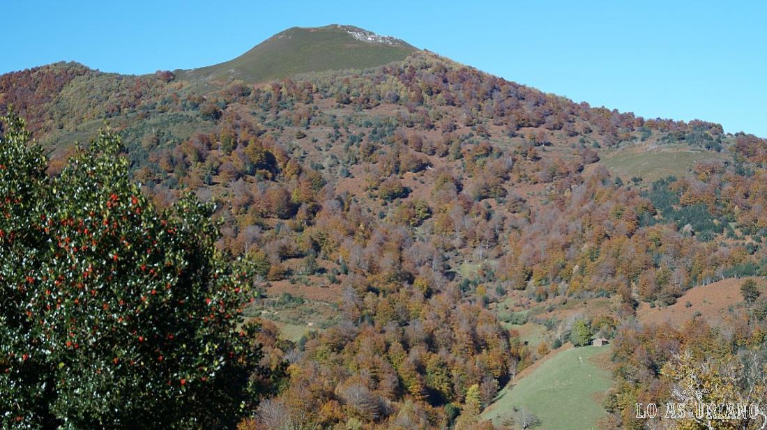 El pico Rasu, en el concejo de Ponga, Asturias.