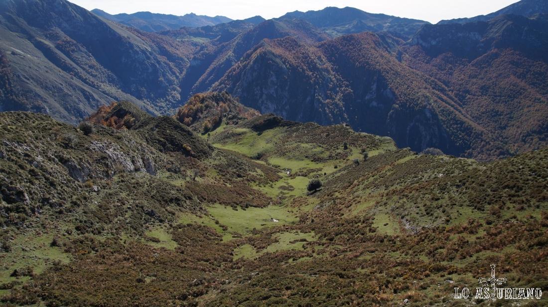Peña Niajo, Pozalón, porro Cervaliza, el bosque de Peloño, etc.