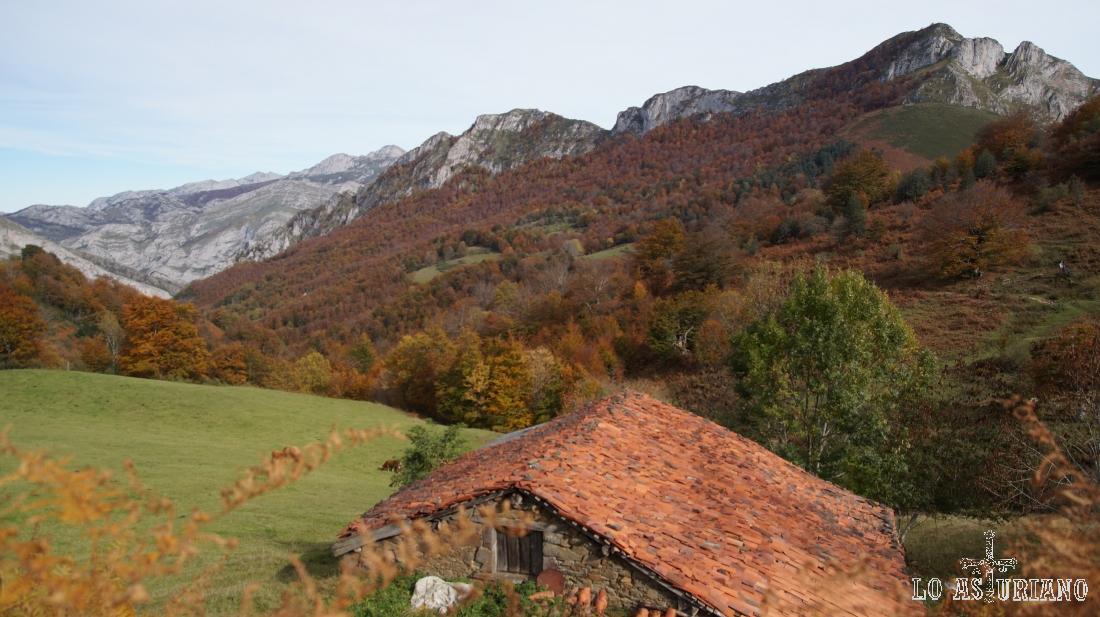 Paisajes del Parque Natural de Ponga, en Asturias.