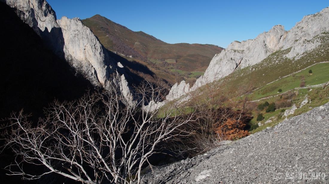 Ruta Foces del Pino, Aller, Asturias.