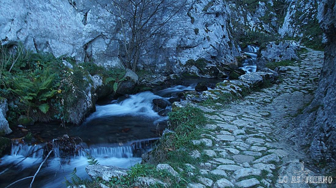 Las foces del río Pino, en el concejo de Aller, Asturias.