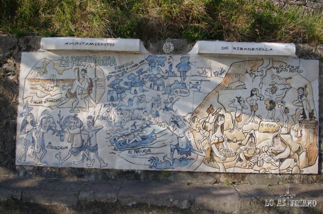 Le prehistoria en Ribadesella, según Antonio Mingote.
