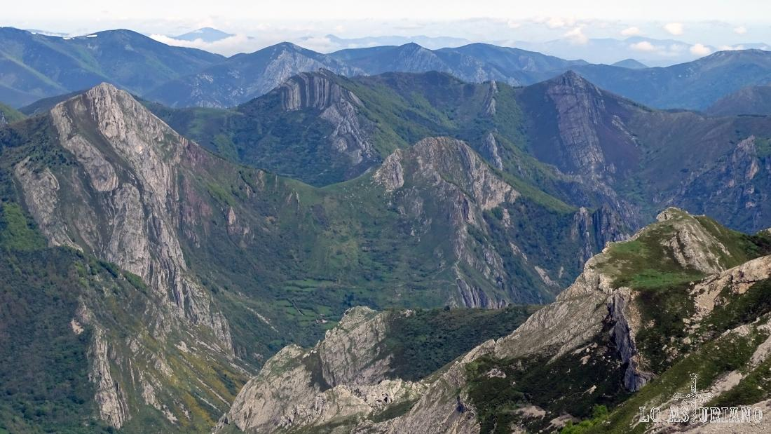 Paisajes del Parque Natural de Somiedo, Asturias.