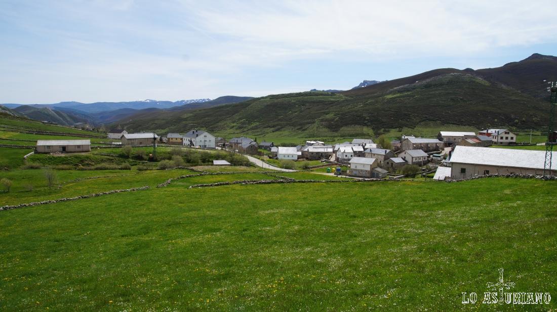 El Puerto, en el sur del Parque Natural de Somiedo, Asturias.