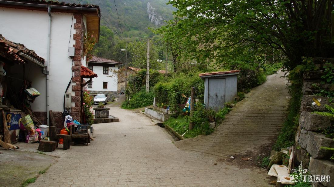 Yano o Yanu, en el concejo de Ponga, cerca de la aldea de Sobrefoz.
