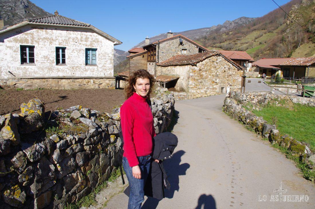 Casas de piedra en este pueblito de no más de 100 habitantes.