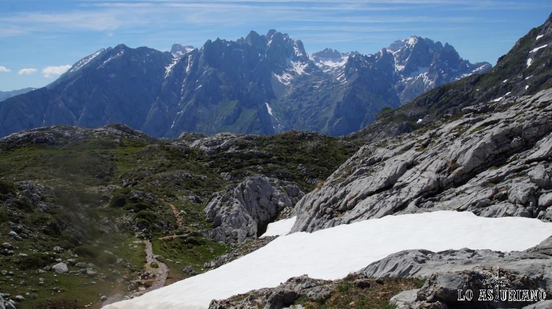 Macizo Central de los Picos de Europa, o también conocido como Los Urrielles.